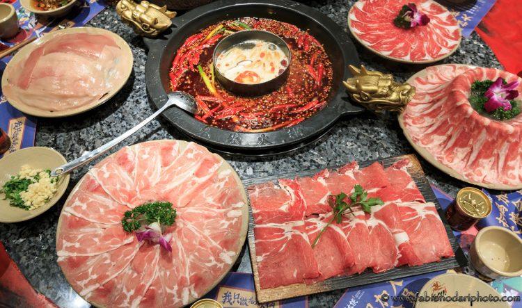 hot pot piccante di chongqing a chengdu nel sichuan