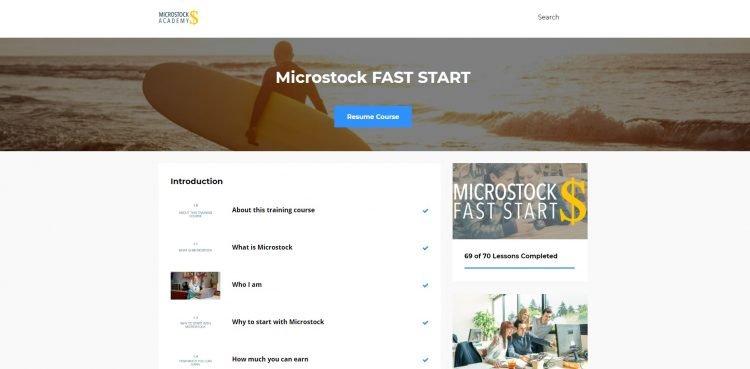 microstock academy review
