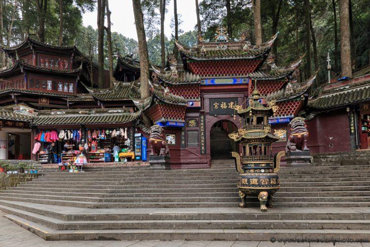 tempio a chengdu