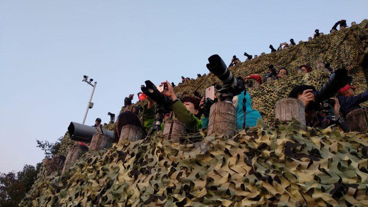 xianggong shan hill in xingping