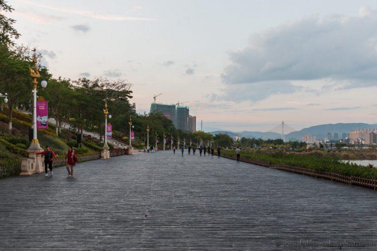 Lancang mekong river jinghong xishuangbanna China