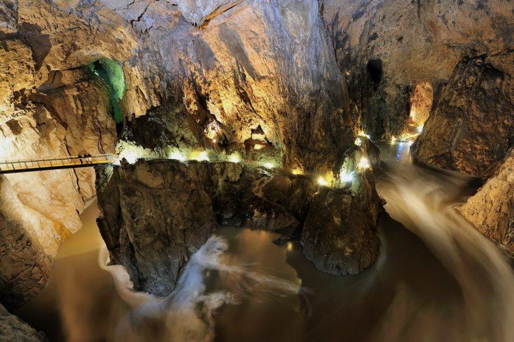grotte di Skocjan (Grotte di San Canziano)
